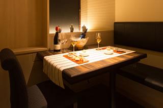 テーブル個室1